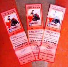 Bullfight Tickets