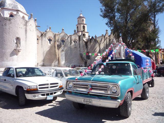 Pilgrimage vehicle