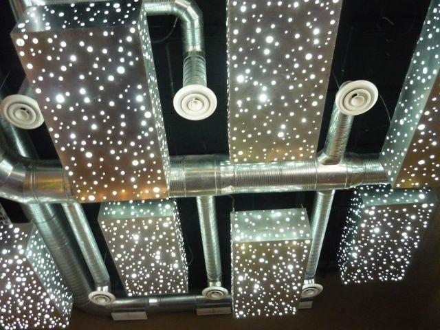 Cool overhead lights