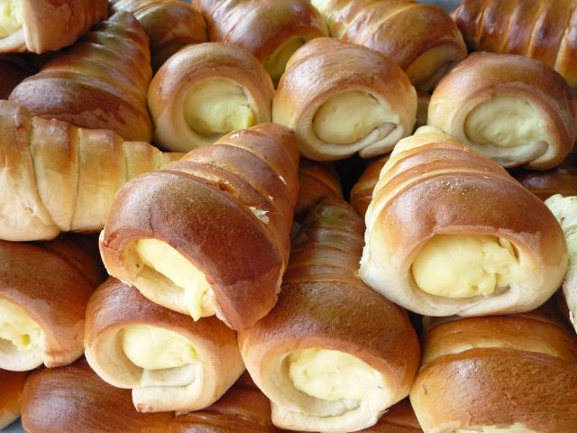 Pastries that look great but no flavor