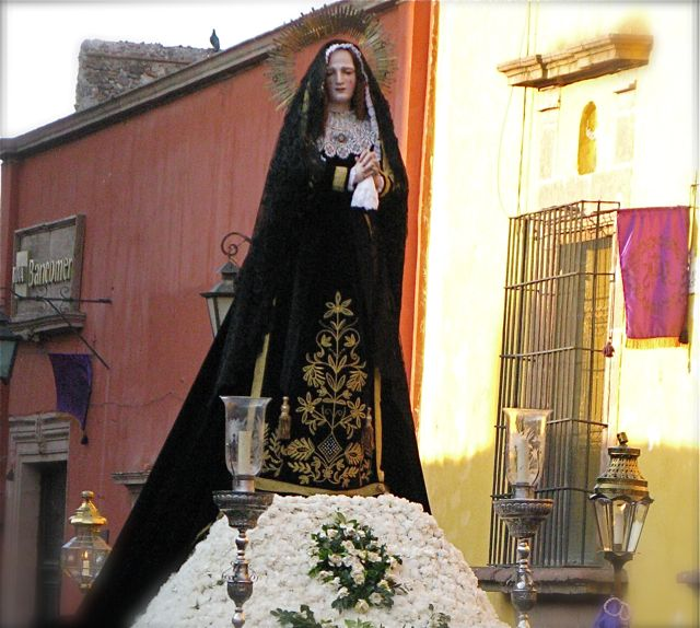 Virgin of Sorrows, Semana Santa