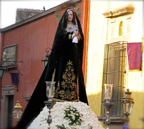 Virgin of Sorrows, Semana Santa