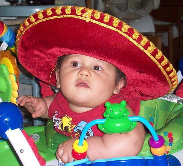 Andreas in his Charro hat